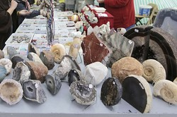 Achat- und Fossilienschleifer